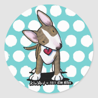 Brindle Bully Stickers