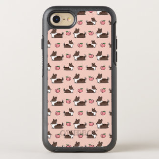 Brindle Corgi Peach Sploot Otterbox Phone Case