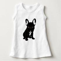 Brindle French Bulldog Dress