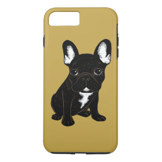 Brindle French Bulldog iPhone 7 Plus Case