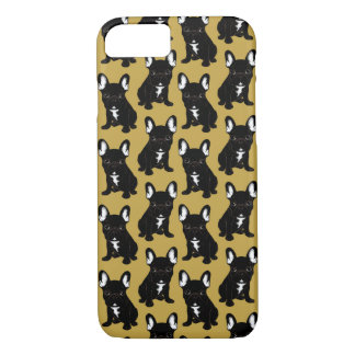Brindle French Bulldog iPhone 8/7 Case