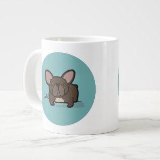 Brindle Frenchie 20 Oz Large Ceramic Coffee Mug