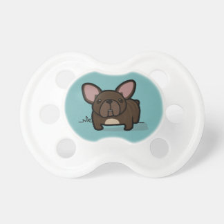 Brindle Frenchie BooginHead Pacifier