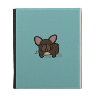 Brindle Frenchie iPad Cases