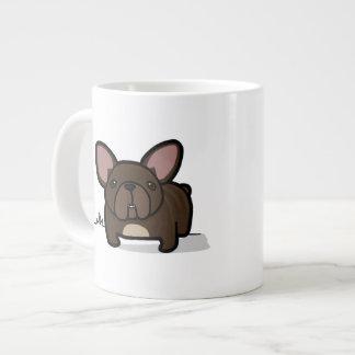 Brindle Frenchie Giant Coffee Mug
