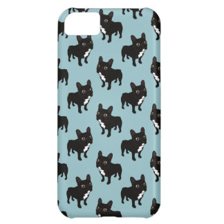 Brindle Frenchie likes to go for a walk iPhone 5C Cover