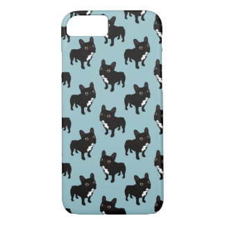 Brindle Frenchie likes to go for a walk iPhone 8/7 Case