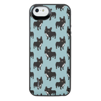 Brindle Frenchie likes to go for a walk iPhone SE/5/5s Battery Case