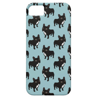 Brindle Frenchie likes to go for a walk iPhone SE/5/5s Case