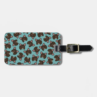 Brindle Frenchie Tag For Bags