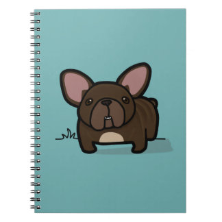 Brindle Frenchie Notebook