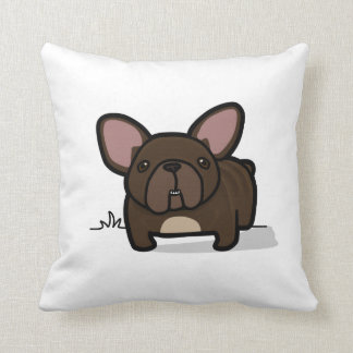 Brindle Frenchie Pillow