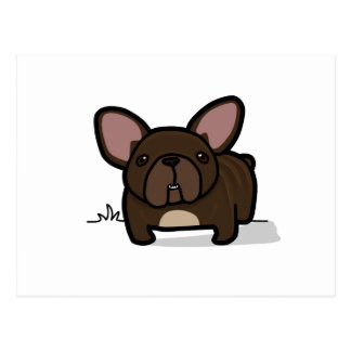 Brindle Frenchie Postcards