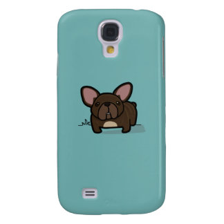Brindle Frenchie Samsung Galaxy S4 Covers