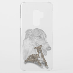 Uncommon Phone Case with Greyhound Phone Cases design