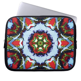 Brindle Kaleidoscope Computer Sleeve