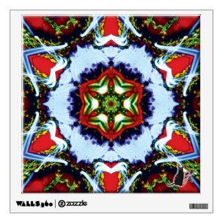 Brindle Kaleidoscope Wall Sticker
