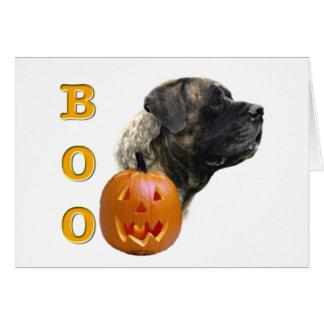 Brindle Mastiff Boo Card