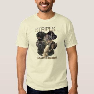 Brindle Mastiff Stripes shirt