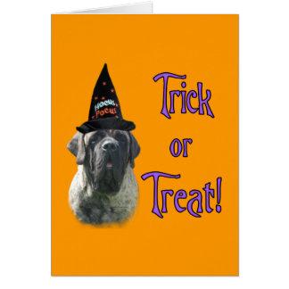 Brindle Mastiff Trick Card