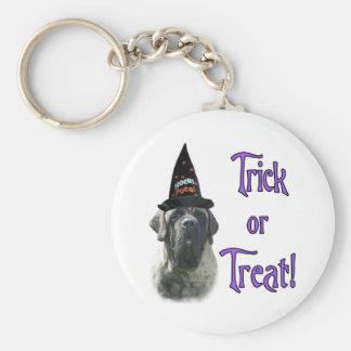 Brindle Mastiff Trick Keychain