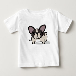 Brindle Pied Frenchie Baby T-Shirt