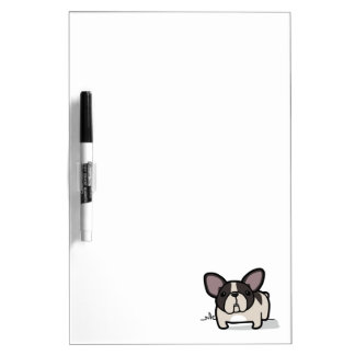 Brindle Pied Frenchie Dry Erase Board