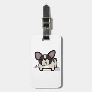 Brindle Pied Frenchie Tags For Bags