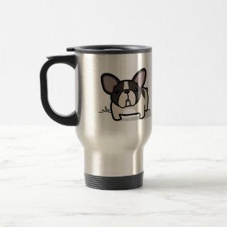 Brindle Pied Frenchie Mugs