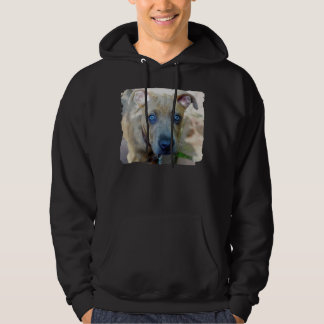 Brindle Pit Bull Puppy by Shirley Taylor Hoodie