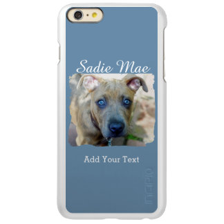 Brindle Pit Bull Puppy by Shirley Taylor Incipio Feather Shine iPhone 6 Plus Case