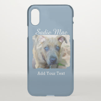 Brindle Pit Bull Puppy by Shirley Taylor iPhone X Case