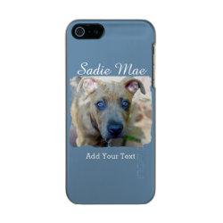 Incipio Feather Shine iPhone 5/5s Case with Bull Terrier Phone Cases design