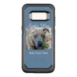 OtterBox Commuter Samsung Galaxy S8 Case with Bull Terrier Phone Cases design