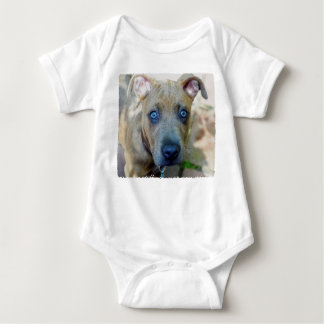 Brindle Pit Bull Puppy Tee Shirt
