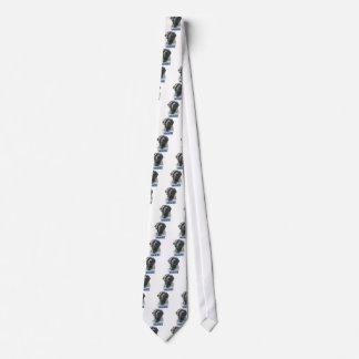 BrindleNamebluemetal Neck Tie