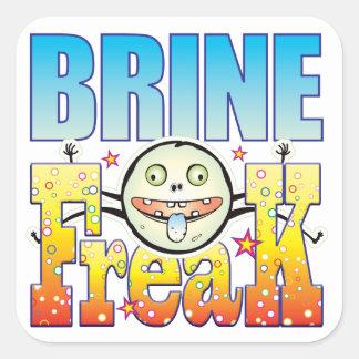 Brine Freaky Freak Square Sticker