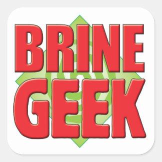Brine Geek v2 Square Sticker