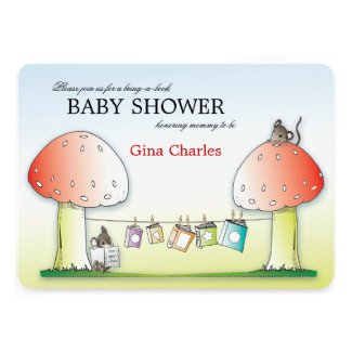 Celebrations cute springtime and summer baby shower invitations