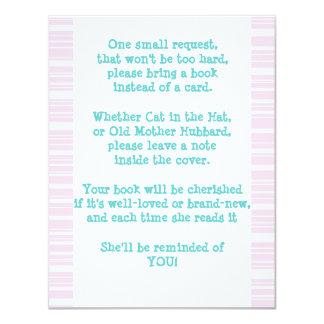 Bring a Book 4.25x5.5 Paper Invitation Card