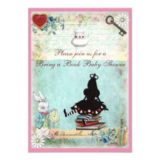 Bring a Book Princess Alice Baby Shower Cards