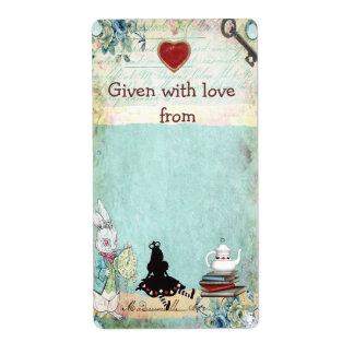 Bring a Book Princess Alice Bookplates Shipping Label