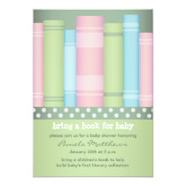 """Bring a Book - Storybook - Baby Shower Invitations 5"""" X 7"""" Invitation Card"""