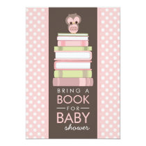 Owl baby shower invitations bring a book sweet girl owl baby shower invitation filmwisefo