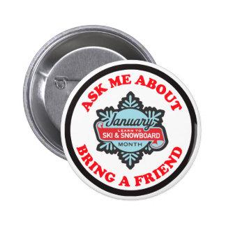 Bring a Friend Pin