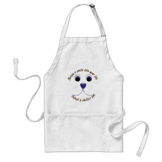 Bring a Smile Adopt a Pet Adult Apron