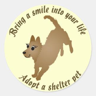 Bring a Smile Classic Round Sticker