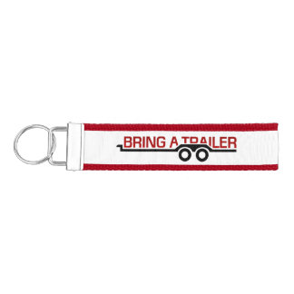 Bring a Trailer Logo Keychain