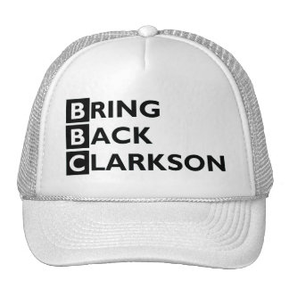 Bring Back Clarkson Cap Trucker Hat