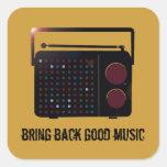 bring back good music sticker